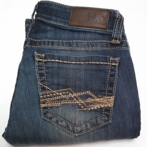 BKE Stella Jeans Stretch Distressed Embroidered